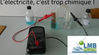 L'électricité, c'est trop chimique !